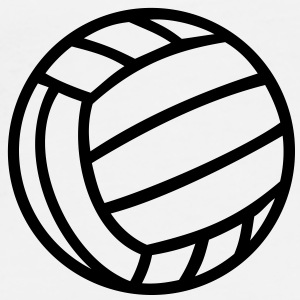 Volleyball Ball Caps & Hats - Men's Premium T-Shirt