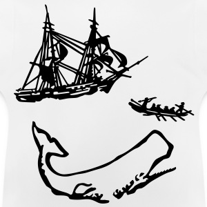 Moby Dick illustration Shirts - Baby T-Shirt