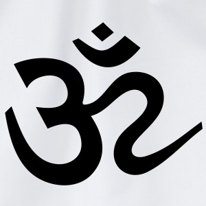 OM Sign Sanskrit Shiva Hoodies & Sweatshirts - Drawstring Bag