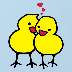 Chicks in Love - Kinder Bio-T-Shirt