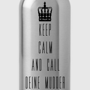 keep calm mudder Pullover & Hoodies - Trinkflasche