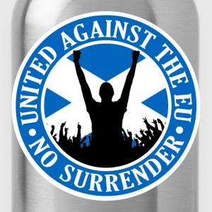 Anti EU Scotland - No Surrender T-Shirts - Water Bottle