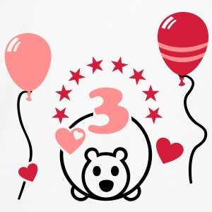 Finally, 3 years old! Third birthday Accessories - Men's Premium Longsleeve Shirt