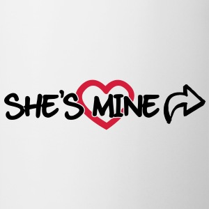 She's mine T-Shirts - Mug