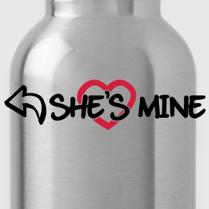 She's mine T-Shirts - Trinkflasche