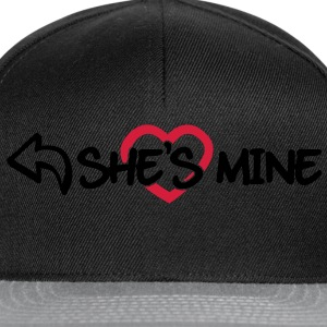 She's mine T-Shirts - Snapback Cap