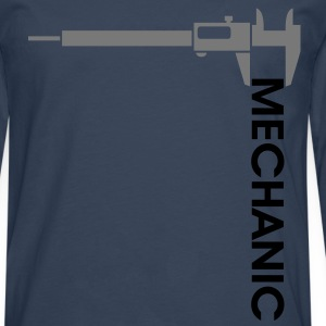 Mechanic - Caliper. T-Shirts - Men's Premium Longsleeve Shirt