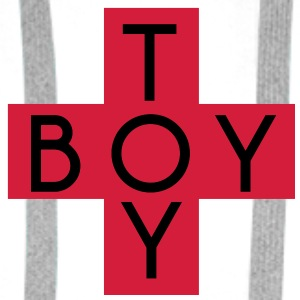 toy boy Bottles & Mugs - Men's Premium Hoodie