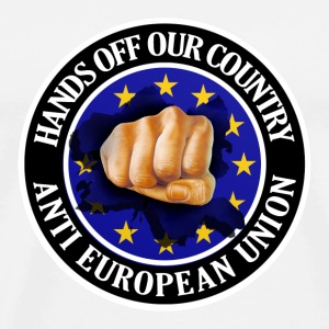Anti EU - Fist Buttons - Men's Premium T-Shirt