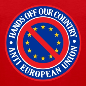 Hands Off Our Country - Anti EU T-Shirts - Men's Premium Tank Top