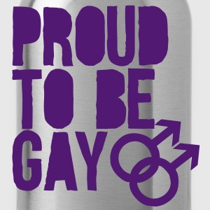 Proud to be gay Shirts - Water Bottle