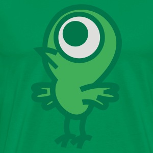 Petit Oiseau Cyclope par Cheerful Madness!! Tabliers - T-shirt Premium Homme