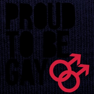 Proud to be gay Gensere - Vinterlue