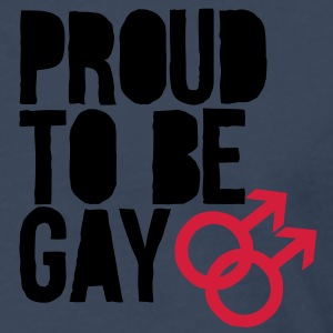 Proud to be gay Sweatshirts - Herre premium T-shirt med lange ærmer