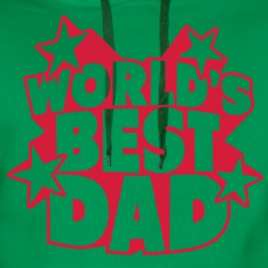 World's best Dad T-shirts - Herre Premium hættetrøje