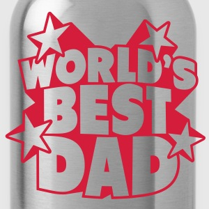 World's best Dad T-shirts - Drikkeflaske