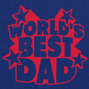 World's best Dad Grembiuli - Borsa di stoffa