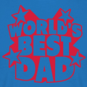 World's best Dad Grembiuli - Maglietta da uomo
