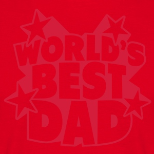 World's best Dad Tabliers - T-shirt Homme