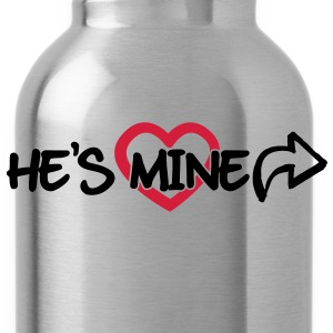He's mine Pullover & Hoodies - Trinkflasche