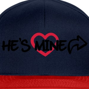 He's mine Sweat-shirts - Casquette snapback