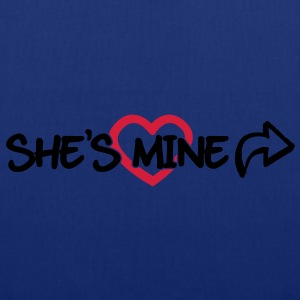 She's mine Pullover & Hoodies - Stoffbeutel