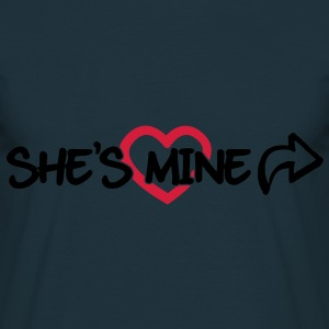 She's mine Sweaters - Mannen T-shirt
