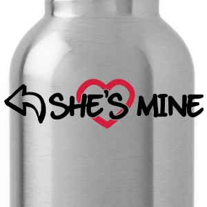 She's mine Pullover & Hoodies - Trinkflasche