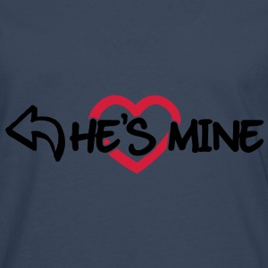 He's mine Sweat-shirts - T-shirt manches longues Premium Homme
