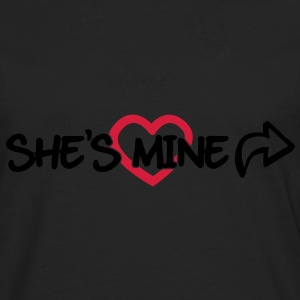 She's mine Sweat-shirts - T-shirt manches longues Premium Homme