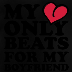 my heart beats only for my boyfriend Shirts - Baby T-shirt