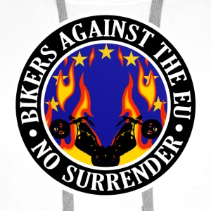 Anti EU Bikers Against The EU 001 Other - Men's Premium Hoodie