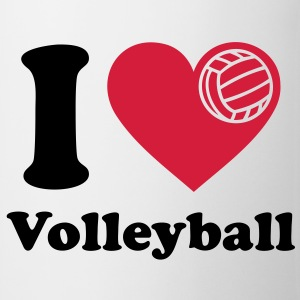 I love Volleyball J'aime volley-ball   Tee shirts - Tasse