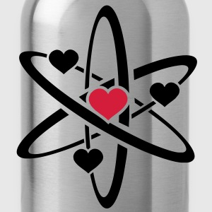 heart atom T-Shirts - Water Bottle