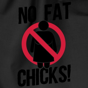 no fat chicks! T-shirts - Sportstaske