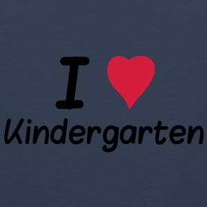 I Love Kindergarten Kids & Babies - Men's Premium Tank Top