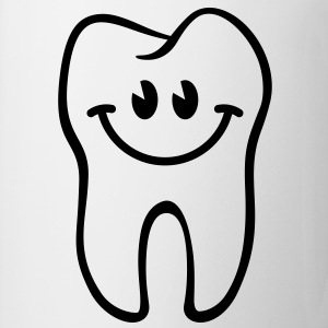 Dent- / Zahn- / Tooth- / Diente- / Dente-Smiley Tee shirts - Tasse