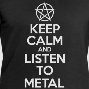 Keep Calm and listen to METAL | nerd | heavy met - Männer Sweatshirt von Stanley & Stella