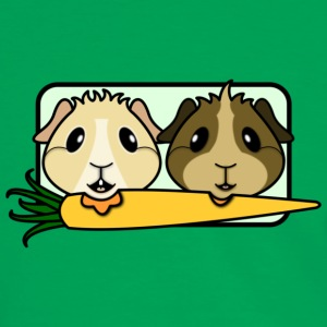 'Rescue Guinea Pigs' Tote Shopping Bag - Men's Ringer Shirt