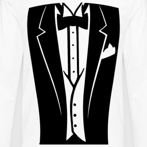 Dinner Jacket | Teenager Shirt - Männer Premium Langarmshirt