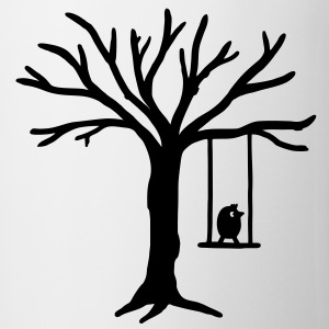 Bird Tree Swing T-Shirts - Mug