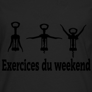 exercices weekend Tee shirts - T-shirt manches longues Premium Homme