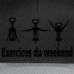 exercices weekend Tee shirts - Casquette snapback