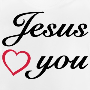 : Jesus loves you. God is love. Shirts - Baby T-Shirt