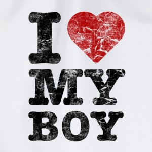 I Love my Boy vintage dark Sweaters - Gymtas