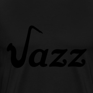 Jazz saxophone. Sax saxophone music Hoodies & Sweatshirts - Men's Premium T-Shirt
