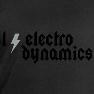 I love Electrodynamics - Heavy Metal Style T-Shirts - Men's Sweatshirt by Stanley & Stella