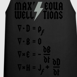 Maxwell's Equations - Heavy Metal Style T-Shirts - Cooking Apron