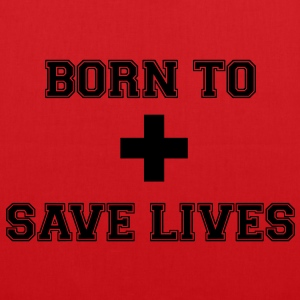 Born To Save Lives - Tote Bag
