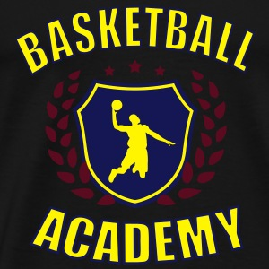 Basketball Academy 2 Hoodies & Sweatshirts - Men's Premium T-Shirt